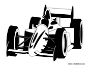 Indy 500 Race Car